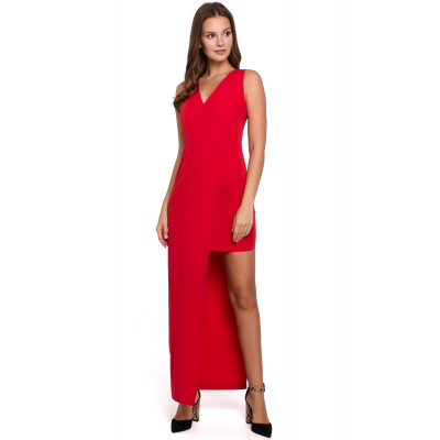 Damskie czerwone sukienki na wesele, midi i długie | sklep Naia